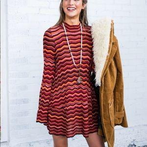 Free People Dresses - Free People Ziggy Mini Bell Sleeve Dress Size XS